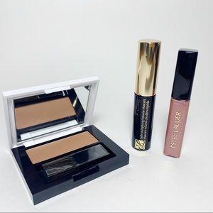 LOT Estee Lauder Mascara Lip Gloss Bronzer Goddess